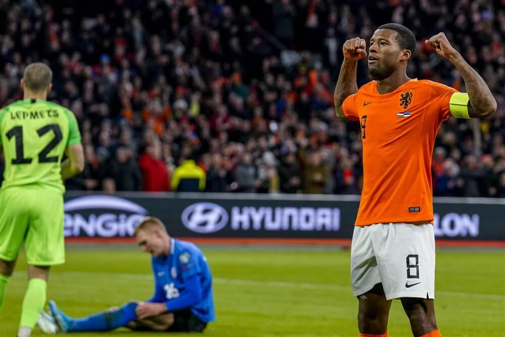 """Opnieuw geen speeltijd voor PSV""""ers bij Oranje; image source: Pro Shots"""