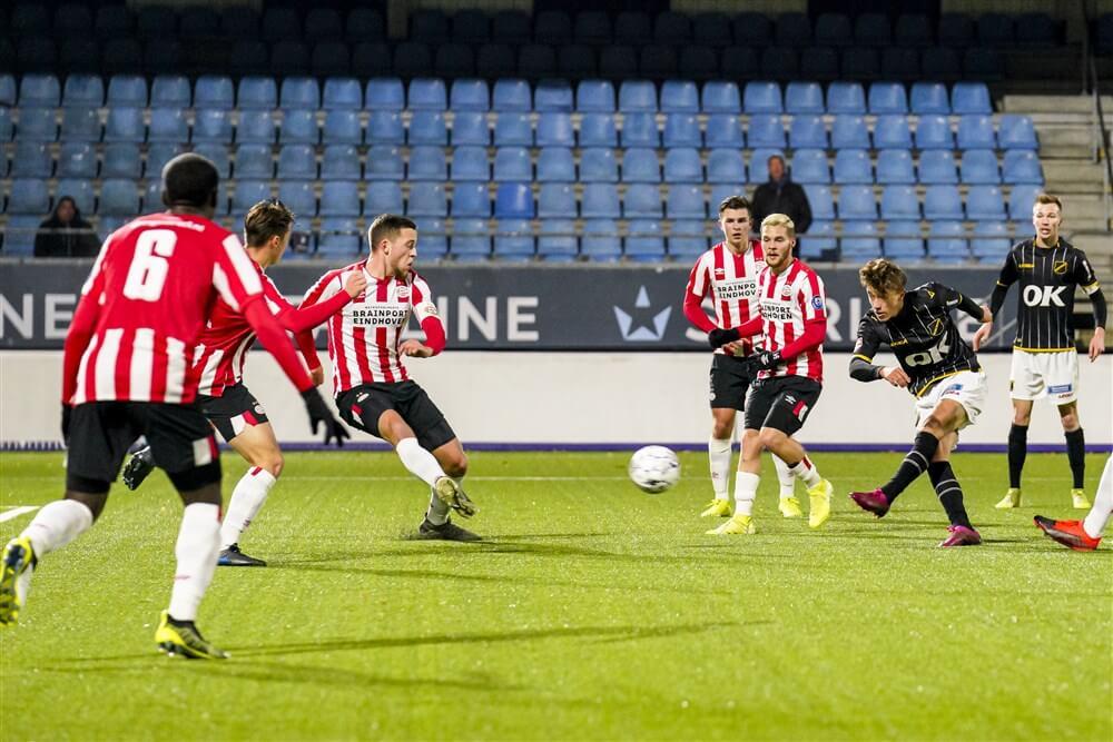 Jong PSV ook onderuit tegen NAC Breda; image source: Pro Shots