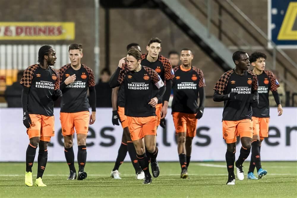 """""""Jong PSV-aanvaller Sekou Sidibe racistisch bejegend in competitieduel tegen Helmond Sport""""; image source: Pro Shots"""