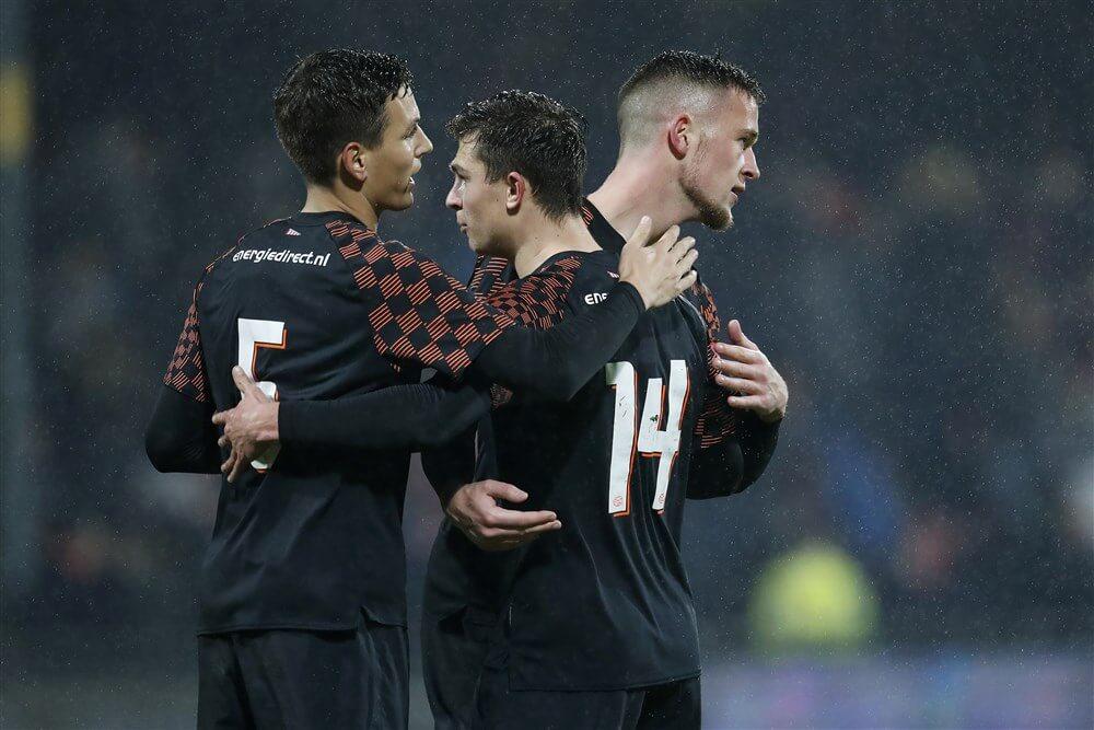 Jong PSV knap gelijk op bezoek bij Go Ahead Eagles; image source: Pro Shots