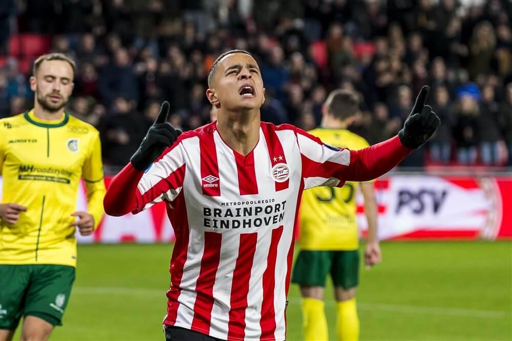 PSV haalt uit en wint met ruime cijfers van Fortuna Sittard; image source: Pro Shots