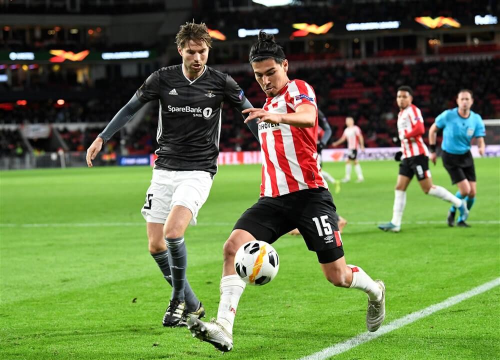 """Érick Gutiérrez: """"Wat er ook gebeurt, ik zal altijd honderd procent voor PSV geven""""; image source: Pro Shots"""