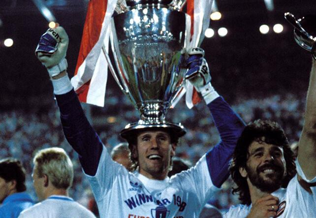 Finale uit 1988 zaterdagavond op Ziggo Sport; image source: Pro Shots