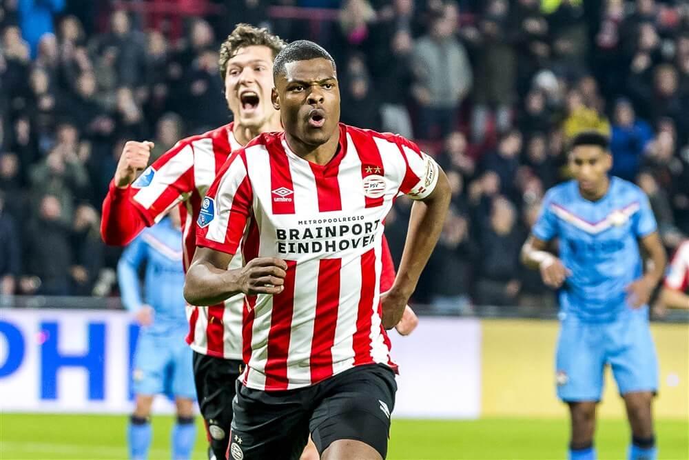"""Denzel Dumfries: """"Het is een eer om voor PSV uit te komen""""; image source: Pro Shots"""