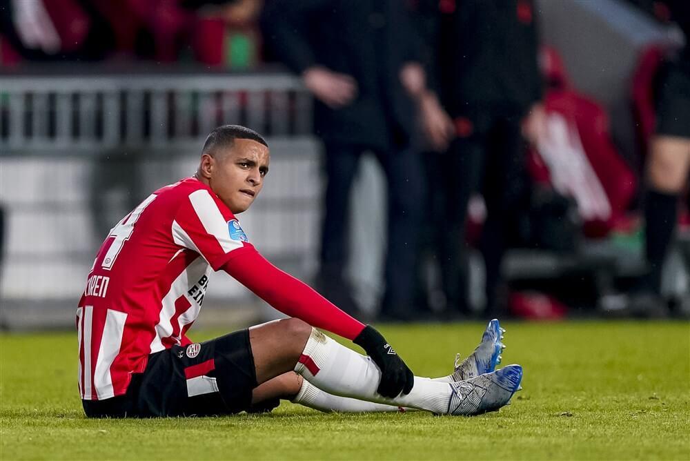 """Ernest Faber: """"Mohamed Ihattaren zal er een of twee weken niet bij zijn""""; image source: Pro Shots"""