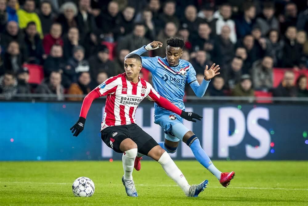 """""""Mohamed Ihattaren meeste wedstrijden ooit voor PSV voor achttiende verjaardag""""; image source: Pro Shots"""