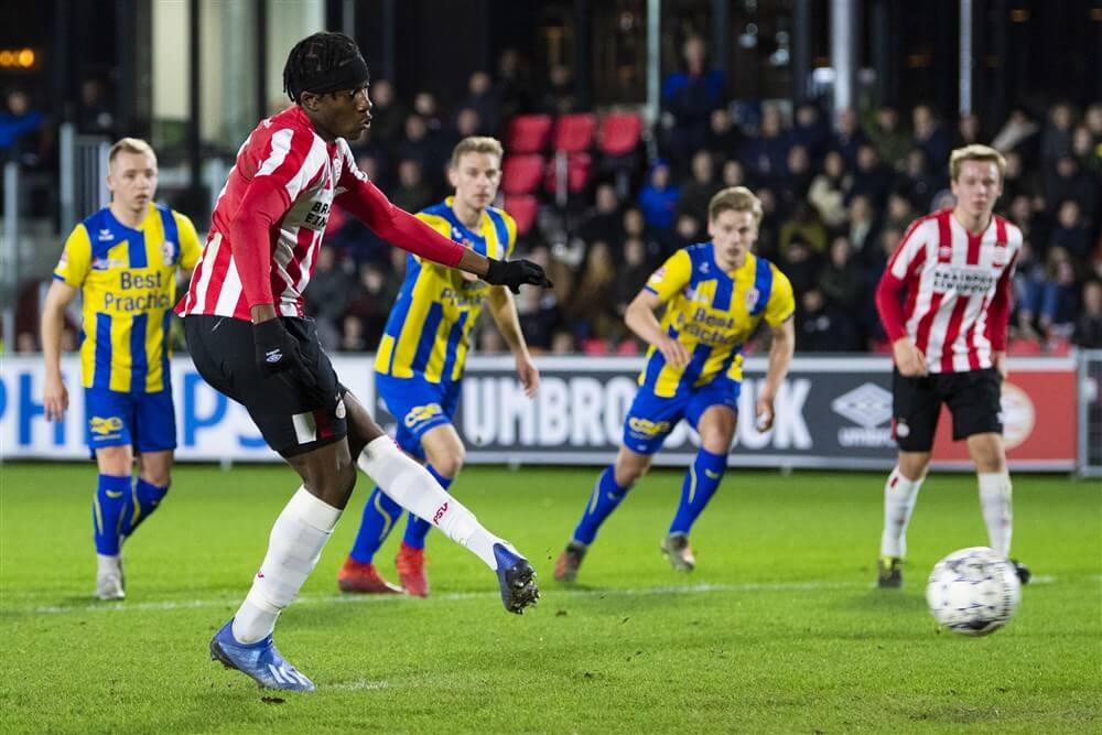Jong PSV niet verder dan gelijkspel tegen TOP Oss; image source: Pro Shots