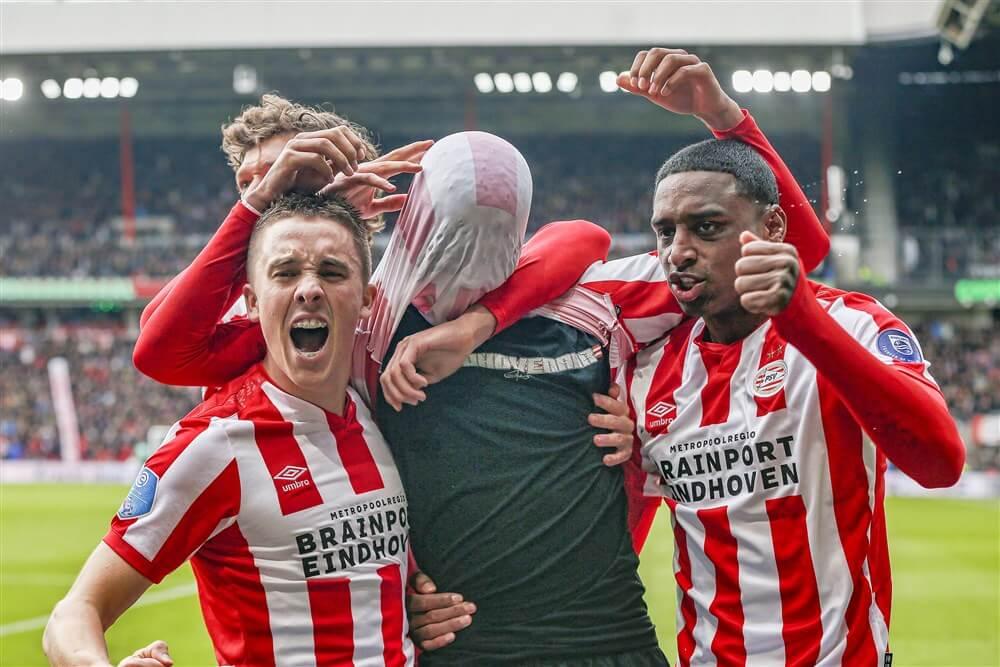 PSV in niet goede, maar wel enerverende topper naar 1-1 gelijkspel; image source: Pro Shots