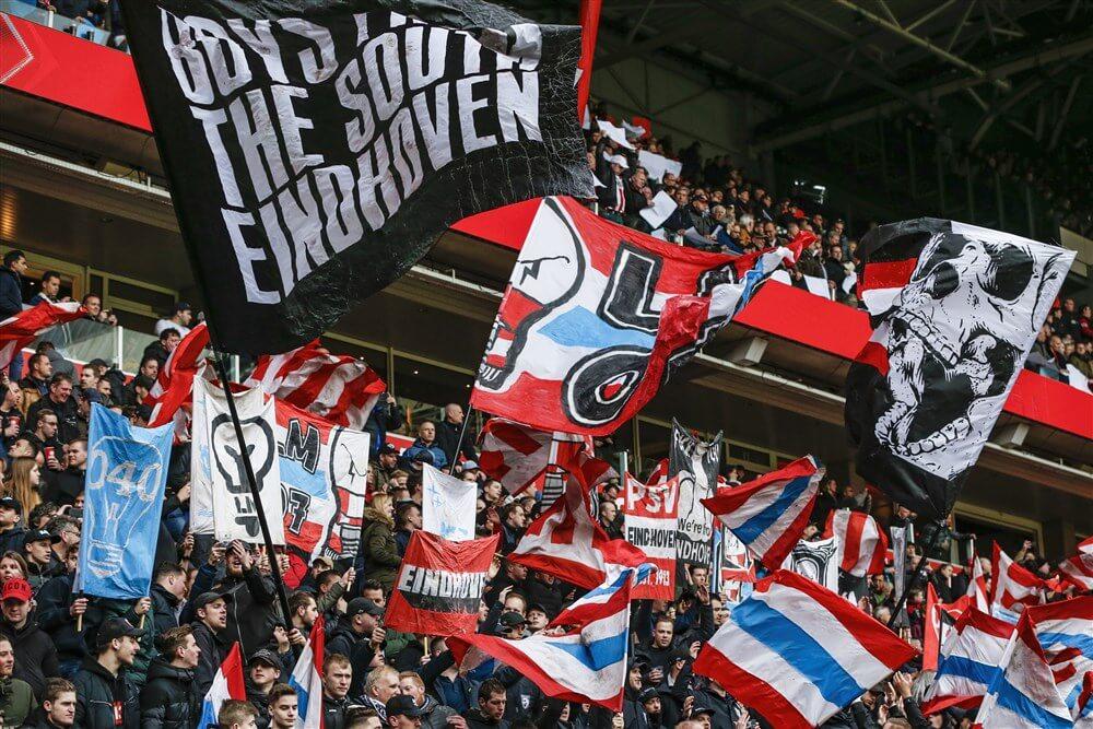 PSV supporters zetten zich in voor Voedselbank Eindhoven; image source: Pro Shots