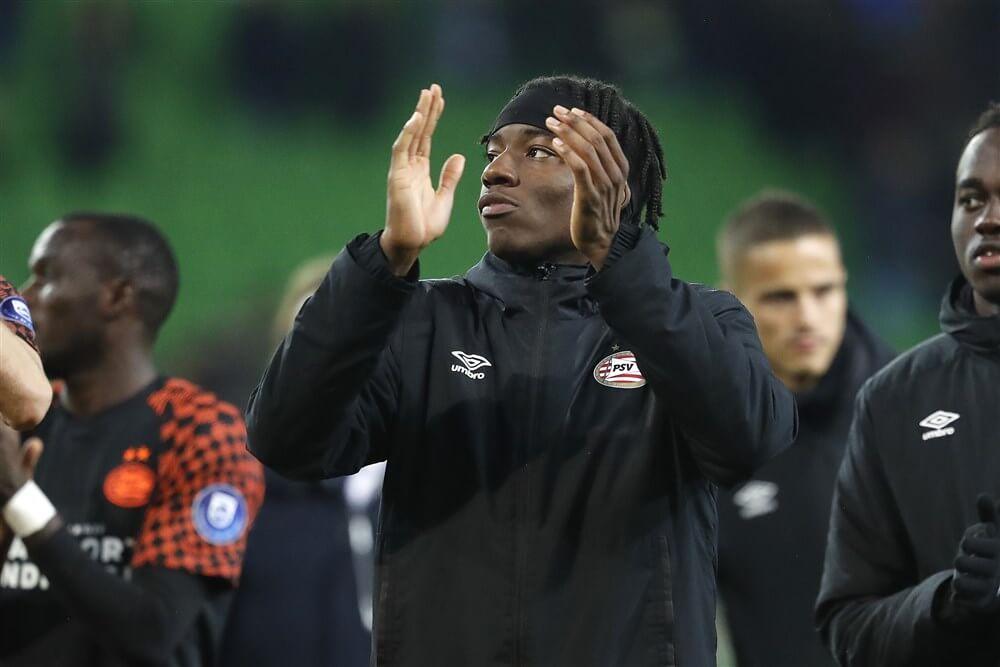 Noni Madueke definitief naar A-selectie PSV; image source: Pro Shots
