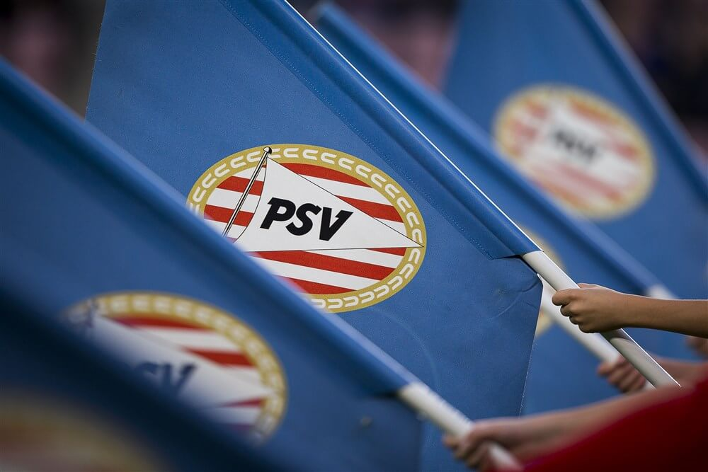 """""""Ghanese aanvaller Kwadwo Opoku op stage bij PSV""""; image source: Pro Shots"""