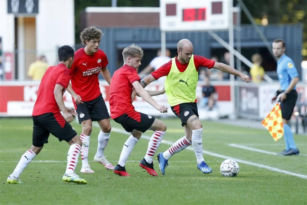 Onderlinge oefenwedstrijd PSV eindigt gelijk; image source: Pro Shots