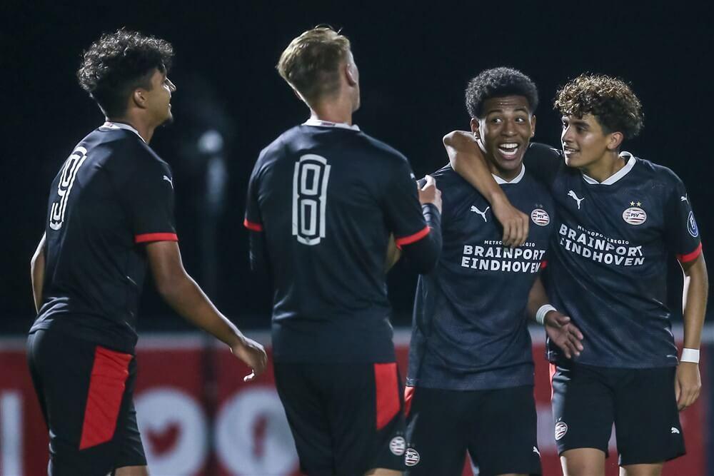 Hattrick Ismael Saibari zorgt voor winst Jong PSV; image source: Pro Shots