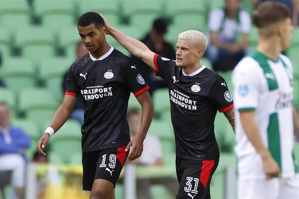 Knappe treffers Cody Gakpo zorgen voor winst in Groningen; image source: Pro Shots