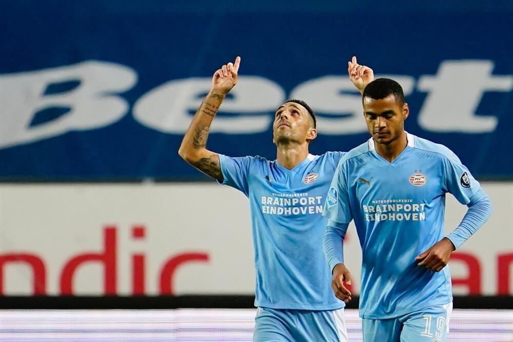 Eran Zahavi direct belangrijk bij zege van PSV; image source: Pro Shots
