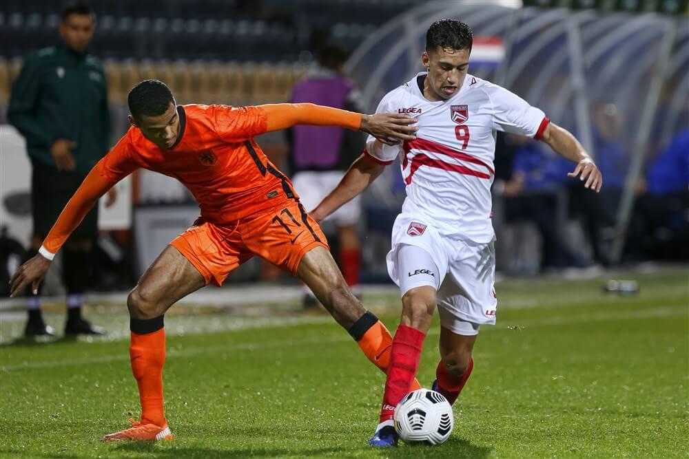 Jong Oranje met Cody Gakpo veel te sterk voor Gibraltar; image source: Pro Shots