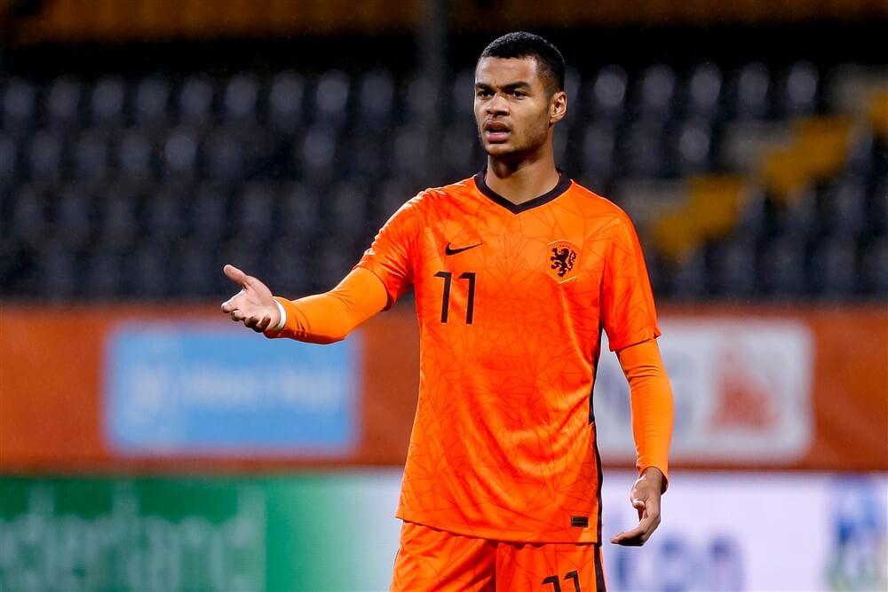 Jong Oranje verliest in Portugal ondanks doelpunt Cody Gakpo; image source: Pro Shots
