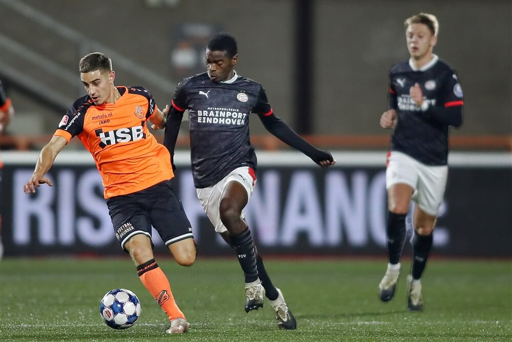 Teleurstellend Jong PSV met harde cijfers onderuit in Volendam; image source: Pro Shots