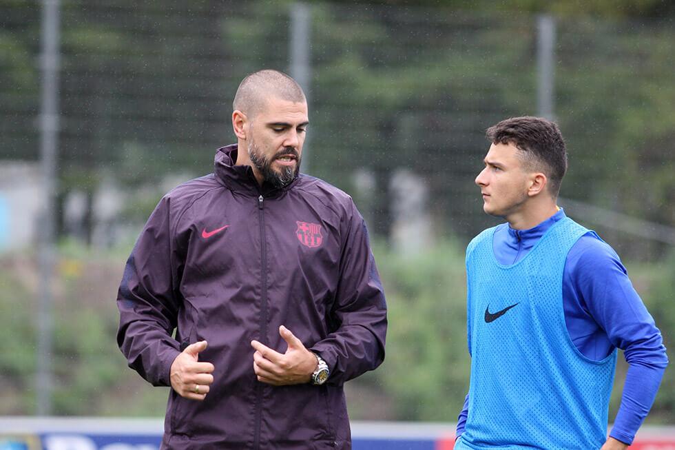 """[Update] Victor Valdes: """"Heb deze beslissing genomen om mijn spelers te beschermen""""; image source: OttenCup.com"""
