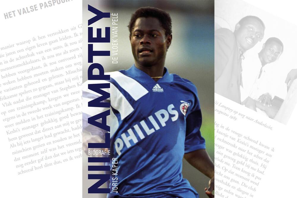 Prijswinnaars biografie Nii Lamptey bekend; image source: