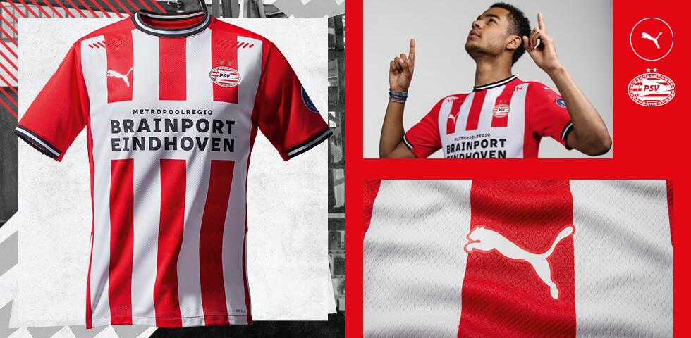 <b>Officieel: Thuistenue voor komend seizoen</b>; image source: PSV.nl