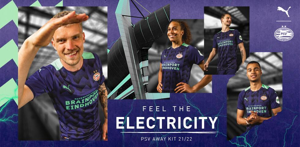 <b>PSV presenteert uittenue voor komend seizoen</b>; image source: PSV.nl